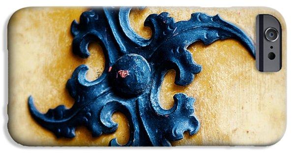 Marienplatz iPhone Cases - Ancient motif iPhone Case by Ivy Ho