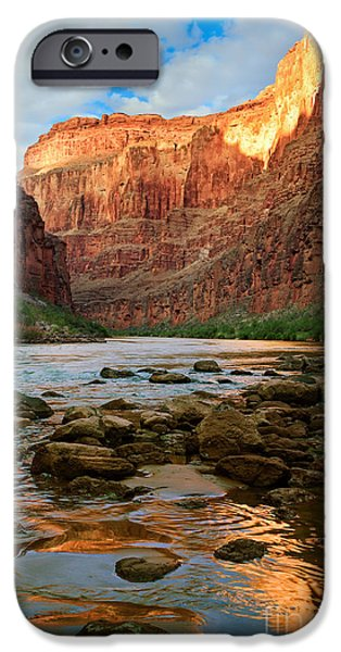 Solitude Photographs iPhone Cases - Ancient Shore iPhone Case by Inge Johnsson