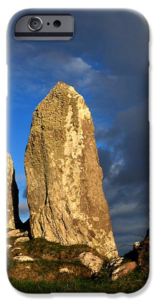 Ancient Stone Alignment iPhone Case by Aidan Moran