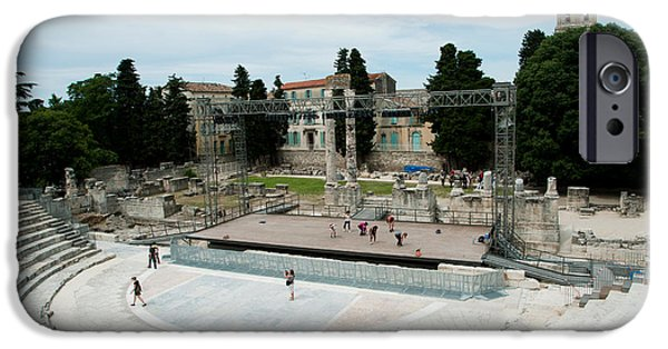 19th Century iPhone Cases - Ancient Theatre Built 1st Century Bc iPhone Case by Panoramic Images