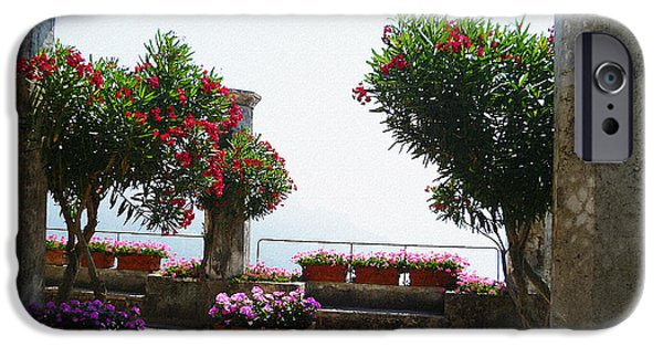 Old Churches iPhone Cases - Ancient Town Of Ravello Italy iPhone Case by Irina Sztukowski