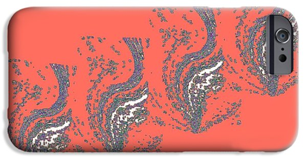 Expressionism Digital Art iPhone Cases - Ancient Water Urns iPhone Case by Will Borden