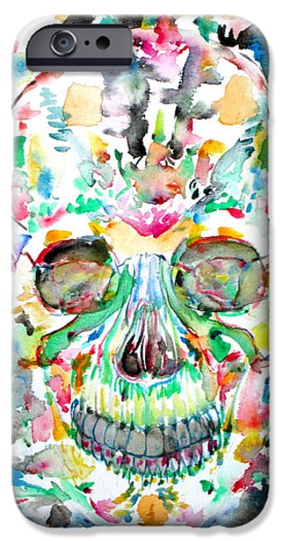 Santeria iPhone Cases - And Joining At Last Its Mighty Origin iPhone Case by Fabrizio Cassetta