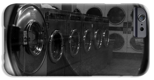 Washing Machine iPhone Cases - And So We Meet Again... iPhone Case by Luke Moore