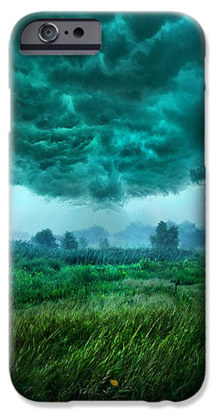 Mist iPhone Cases - And Then I Ran iPhone Case by Phil Koch