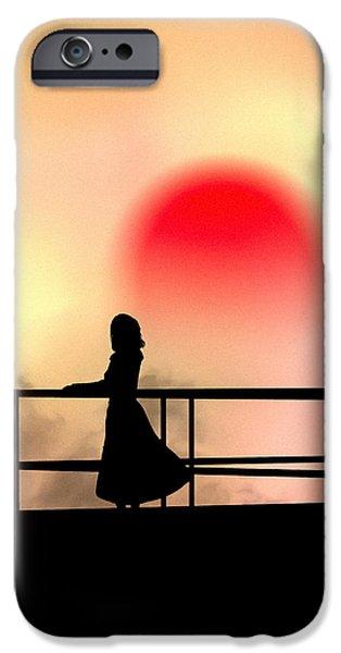 and the sun also rises iPhone Case by Bob Orsillo