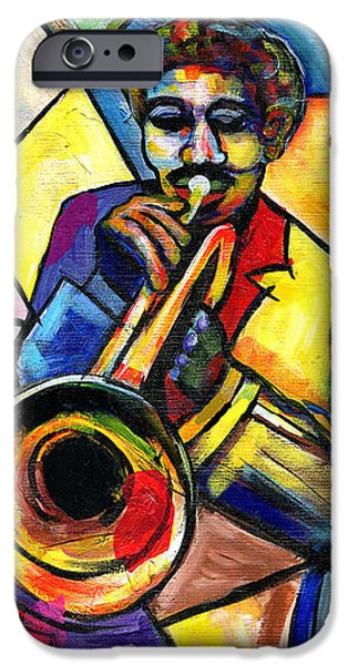 And Then There Was Da Blues iPhone Case by Everett Spruill