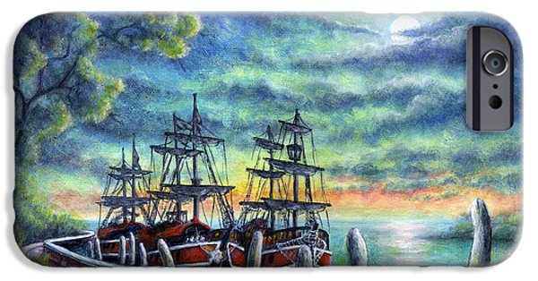 Virtual iPhone Cases - And We Shall Sail My Love and I iPhone Case by Retta Stephenson
