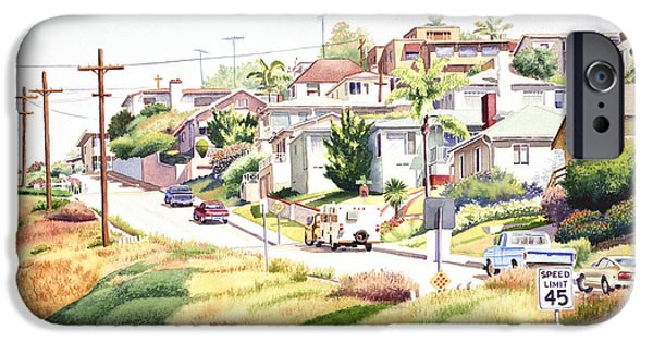 Mission iPhone Cases - Andrews Street Mission Hills iPhone Case by Mary Helmreich