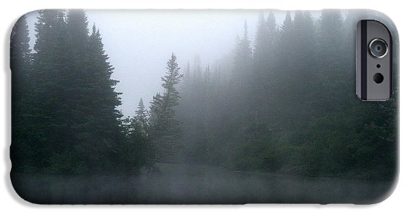 Androscoggin iPhone Cases - Androscoggin River Mist  iPhone Case by Neal  Eslinger