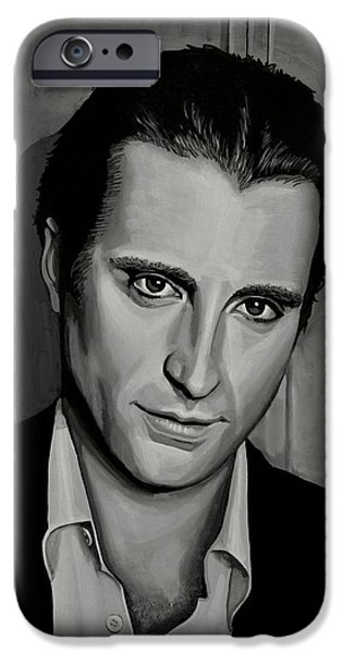 Cuban iPhone Cases - Andy Garcia iPhone Case by Paul Meijering