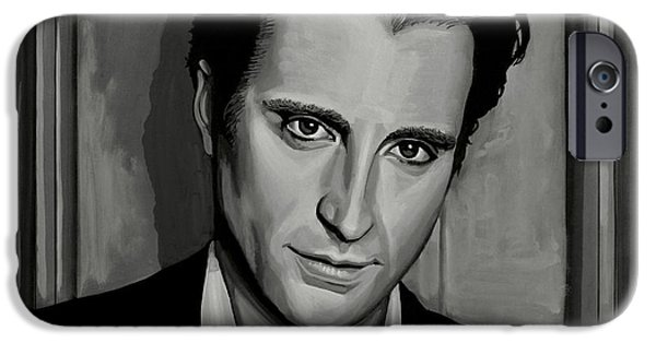 Lost iPhone Cases - Andy Garcia iPhone Case by Paul Meijering