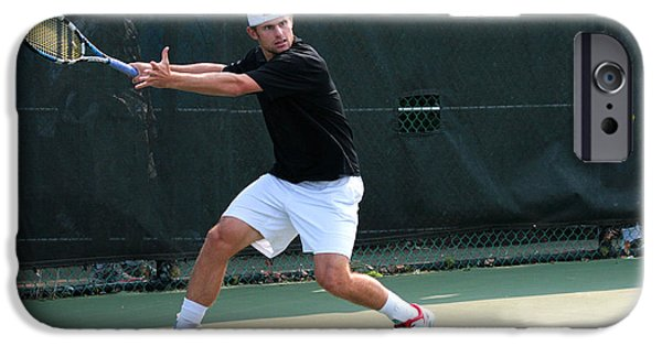 Wta iPhone Cases - Andy Roddick  iPhone Case by James Marvin Phelps