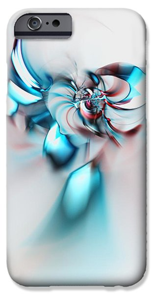 Mystic iPhone Cases - Angel iPhone Case by Anastasiya Malakhova