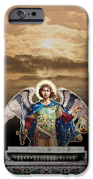 Angel iPhone Case by David Davies