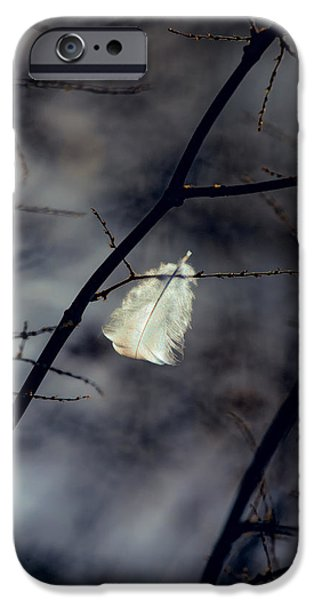 Angel. Spiritual iPhone Cases - Angel Feather iPhone Case by Bob Orsillo