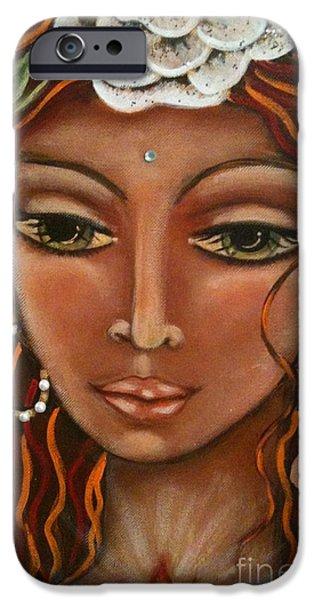 Maya Telford iPhone Cases - Angel Heart iPhone Case by Maya Telford
