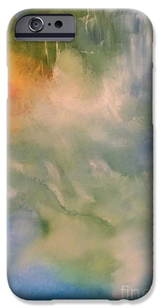Angel iPhone Case by Jane Ubell-Meyer