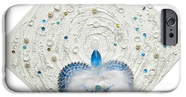 Angel Reliefs iPhone Cases - Angel of purity and power iPhone Case by Heidi Sieber
