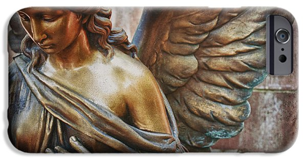 Renewing iPhone Cases - Angelic Contemplation iPhone Case by Terry Rowe
