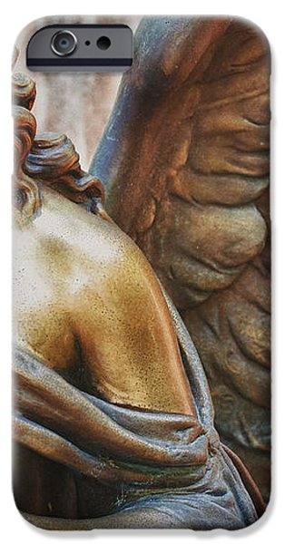Angelic Contemplation iPhone Case by Terry Rowe
