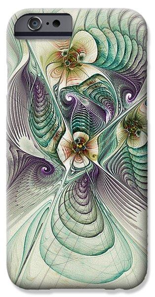 Angelic Entities iPhone Case by Deborah Benoit