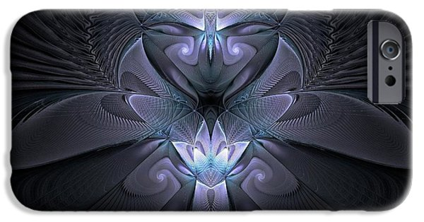 Silver Turquoise iPhone Cases - Angelic Light iPhone Case by Amanda Moore