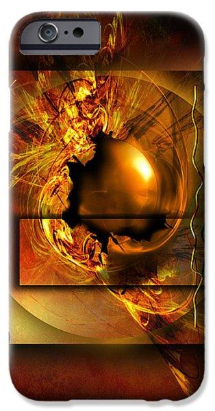 Angelos iPhone Case by Franziskus Pfleghart