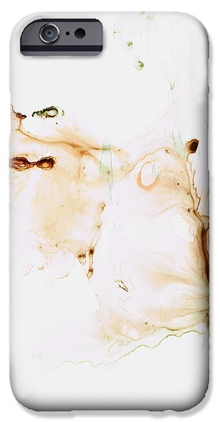 Breathing Paintings iPhone Cases - Angels Breath Spiritual Art iPhone Case by Sharon Cummings