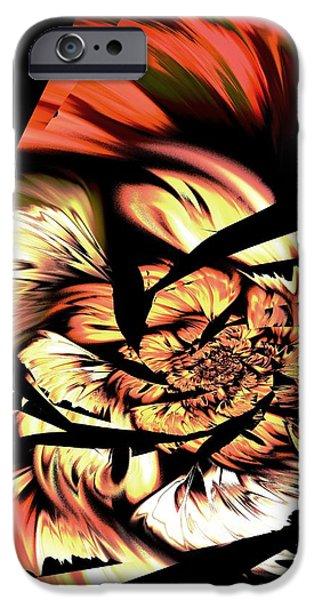 Anger Management iPhone Case by Anastasiya Malakhova