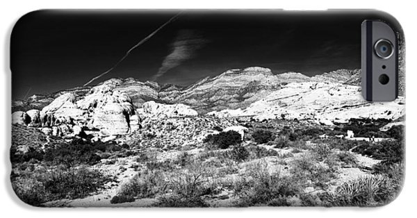 Red Rock iPhone Cases - Angled in the Canyon iPhone Case by John Rizzuto