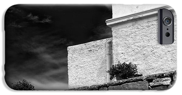 Delos iPhone Cases - Angles on the Island of Delos iPhone Case by John Rizzuto