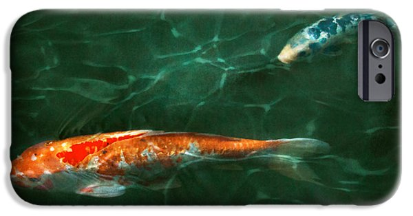 Gift For A iPhone Cases - Animal - Fish - Koi - Another fish story iPhone Case by Mike Savad