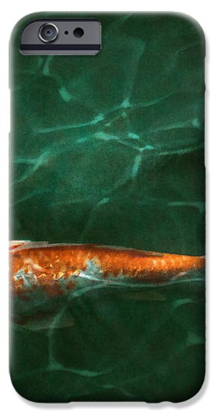 Animal - Fish - Koi - Another fish story iPhone Case by Mike Savad