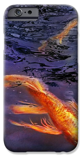 Animal - Fish - There's something about koi  iPhone Case by Mike Savad