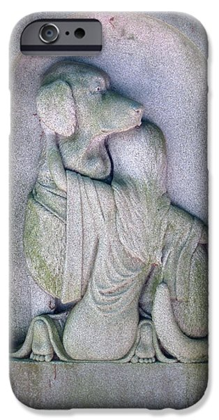Headstones iPhone Cases - Animal Lover iPhone Case by Pat Exum