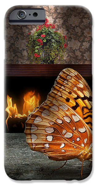 Animal - The Butterfly iPhone Case by Mike Savad