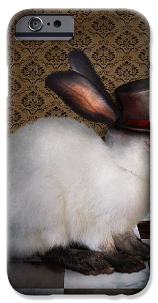 Animal - The Rabbit iPhone Case by Mike Savad