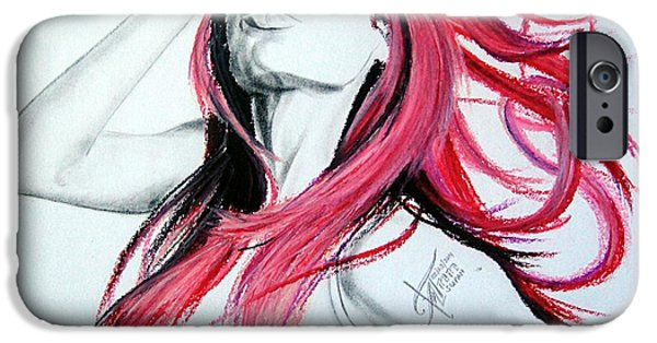 Animation iPhone Cases - Animesia Ii iPhone Case by Ann Supan