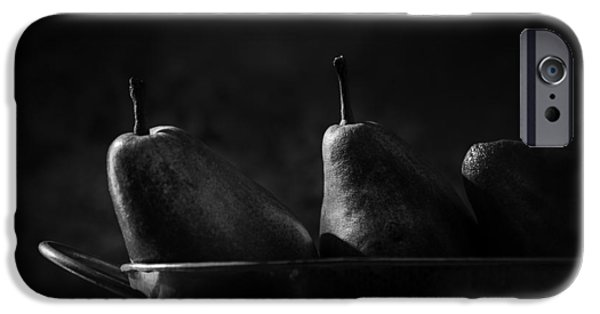 Pears iPhone Cases - Anjou Pears iPhone Case by Jesse Castellano
