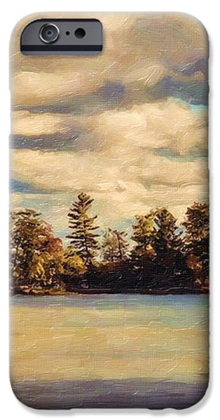 Anne Lacys Hamlin Lake iPhone Case by Lianne Schneider and Anne Lacy