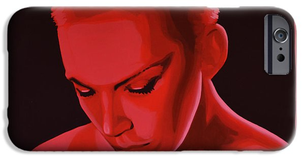B.b.king iPhone Cases - Annie Lennox iPhone Case by Paul  Meijering