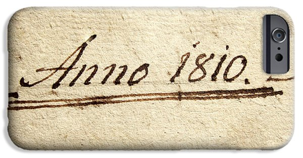Autographed iPhone Cases - Anno 1810 iPhone Case by Dan Radi