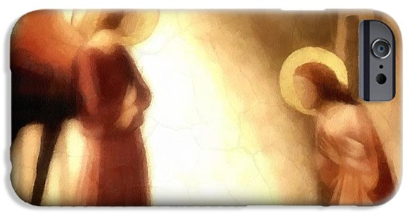 Annunciation iPhone Cases - Annunciation iPhone Case by Gun Legler