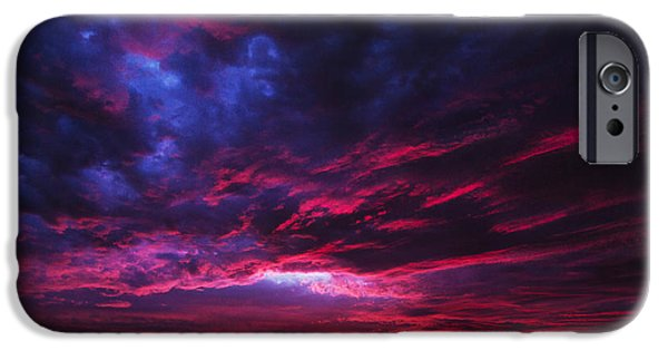 Amazing Sunset iPhone Cases - Anomaly iPhone Case by Andrew Paranavitana
