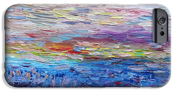 Abstract Seascape iPhone Cases - Another Day iPhone Case by Vadim Levin
