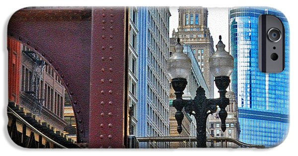 Willis Tower iPhone Cases - Another Piece of Chicago iPhone Case by Lydia Holly