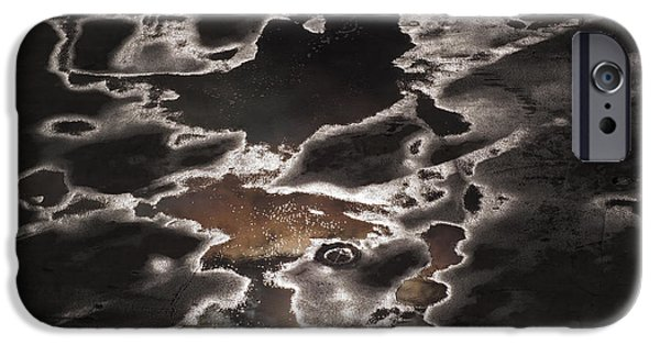 Urban Art Photographs iPhone Cases - Another Sky iPhone Case by Rona Black