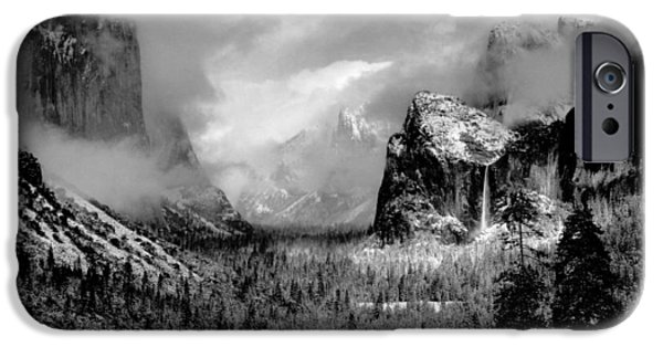 Recently Sold -  - Storm iPhone Cases - Ansel Adams Black and White Photo iPhone Case by Nomad Art And  Design