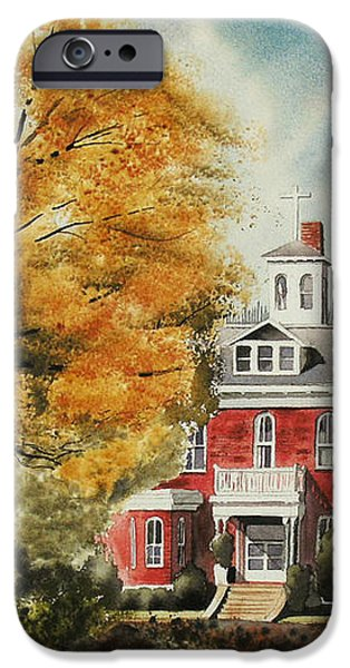 Antebellum Autumn Ironton Missouri iPhone Case by Kip DeVore